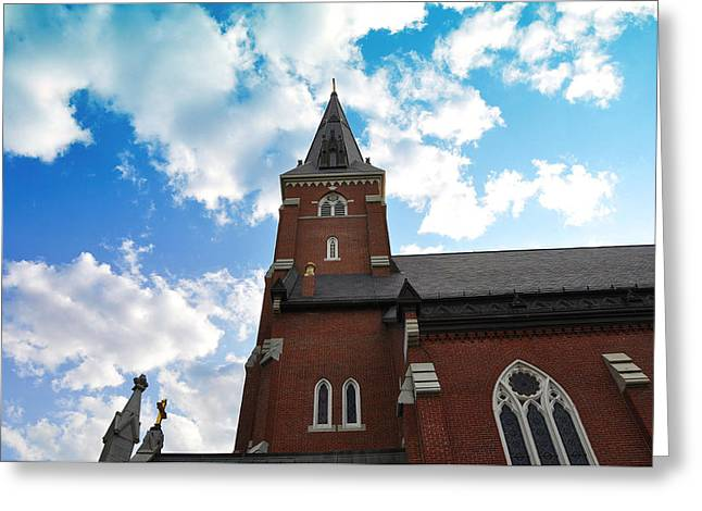 Massachussetts Greeting Cards - Reaching for Glory Greeting Card by Christine Stonebridge