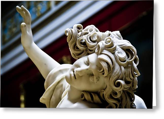 The Hermitage Greeting Cards - Reaching out Greeting Card by Nelieta Mishchenko