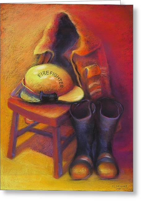 Boots Pastels Greeting Cards - Ready 24/7 Greeting Card by Judy Albright