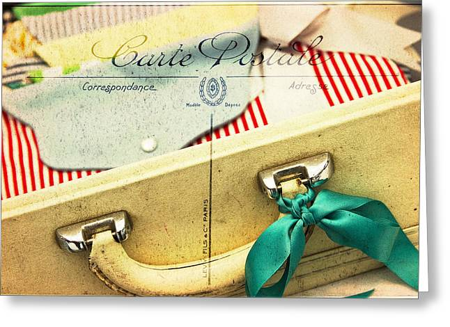 Purses Greeting Cards - Ready Greeting Card by Rebecca Cozart
