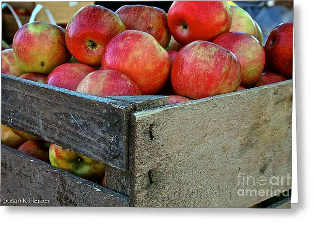 Minnesota Grown Photographs Greeting Cards - Ready To Eat Greeting Card by Susan Herber