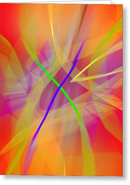 Subtle Colors Greeting Cards - Rebirth  Greeting Card by John Neumann