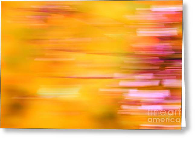 Impressionist Photography Greeting Cards - Rectangulism - s07a Greeting Card by Variance Collections