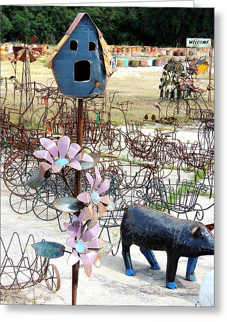 Born Again Photographs Greeting Cards - Recycled Greeting Card by Marilyn Holkham