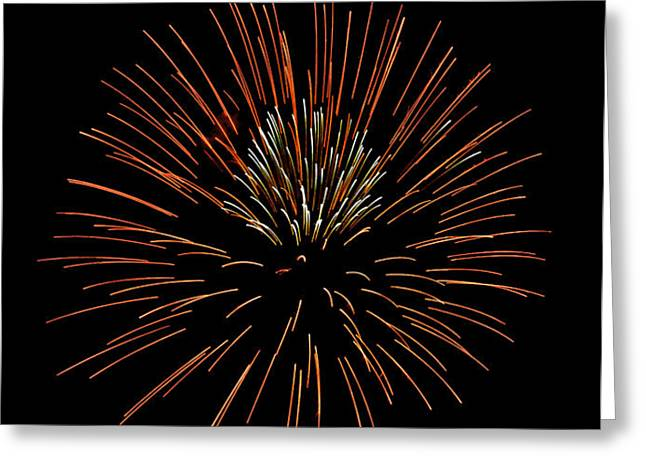 Red Ball Greeting Card by Phill  Doherty
