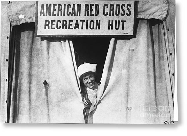 Red Cross Nurse, 1918 Greeting Card by Photo Researchers