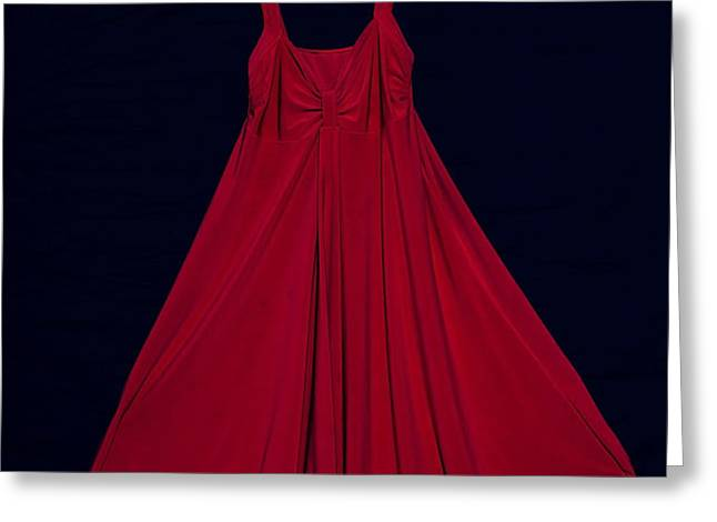 red dress Greeting Card by Joana Kruse