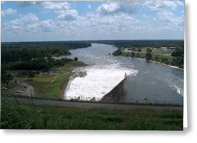 River Flooding Greeting Cards - The River Still Rages Greeting Card by Robyn Stacey