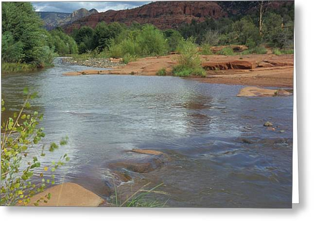 Red Rock Crossing In Sedona, Arizona Greeting Card by David Edwards