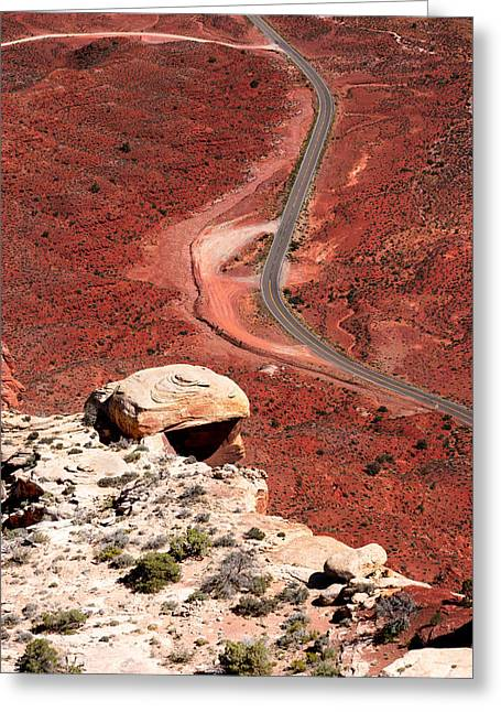 Jason Smith Greeting Cards - Red Rover Greeting Card by Jason Smith
