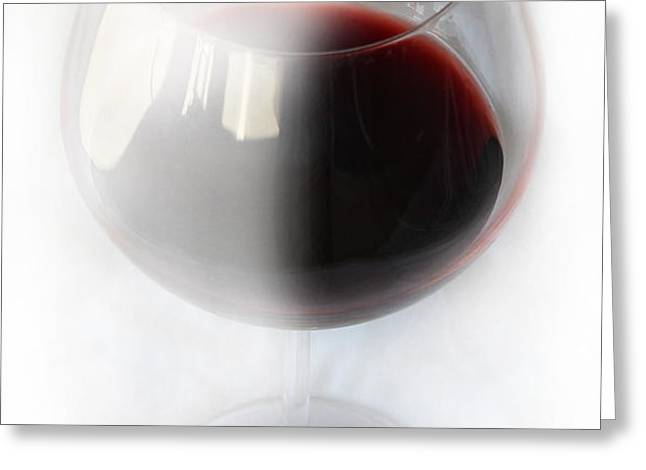 Red Wine Greeting Card by Kume Bryant