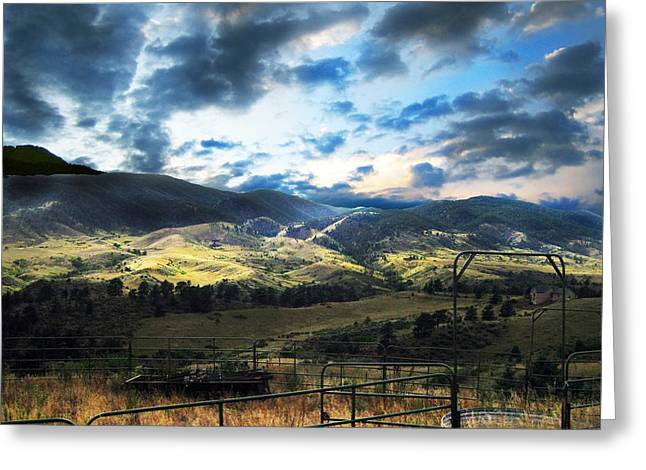 Luminist Greeting Cards - Redsone Canyon Greeting Card by Ric Soulen