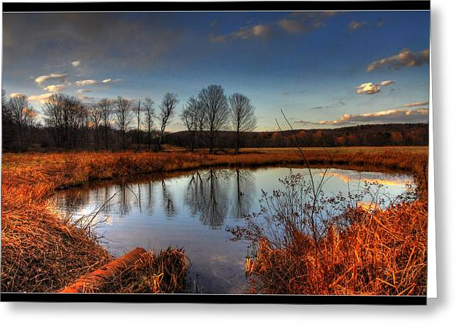 Reflect Upon Greeting Card by Chris Hartman Price