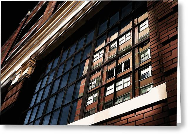 Brick Digital Art Greeting Cards - Reflection 1409 Greeting Card by Douglas Pittman