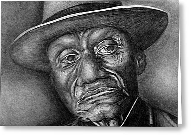 Black History Pastels Greeting Cards - Reflection Greeting Card by Carey Davis