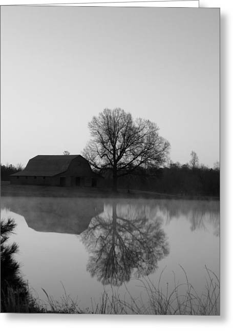 Barn Digital Art Greeting Cards - Reflections Greeting Card by Julian Bralley