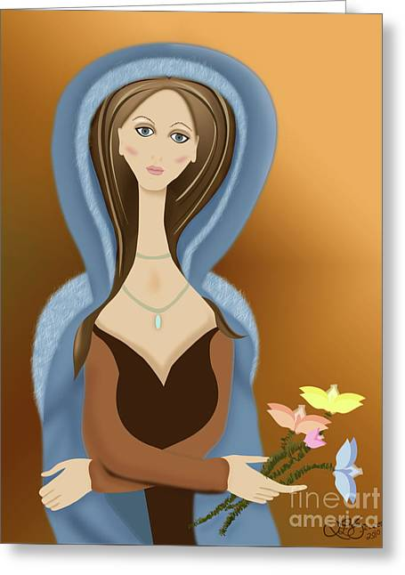 Linda Seacord Greeting Cards - Reflections Greeting Card by Linda Seacord