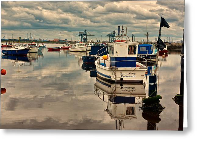 Reflections Greeting Card by Trevor Kersley