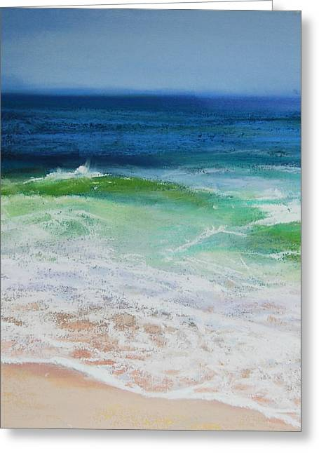New England. Pastels Greeting Cards - Relax Greeting Card by Jeanne Rosier Smith