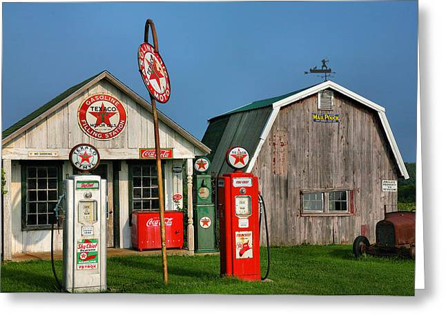 Relics of the Past III Greeting Card by Steven Ainsworth