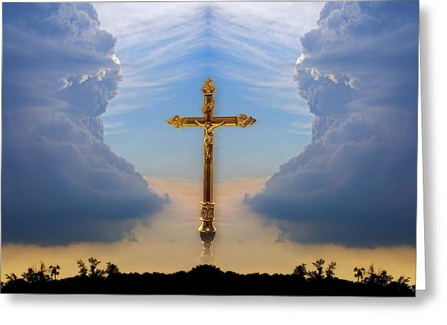 Eternal Inspirational Greeting Cards - Religious Image Greeting Card by Richard Wear