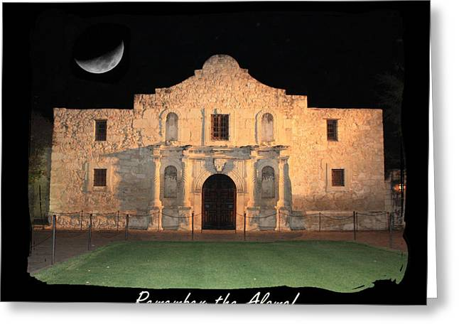Carol Groenen Greeting Cards - Remember the Alamo Greeting Card by Carol Groenen