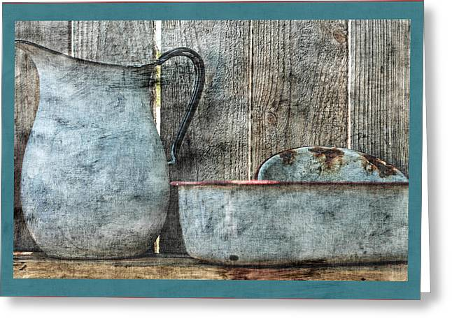 Wooden Bowl Greeting Cards - Remember When Greeting Card by Bonnie Bruno