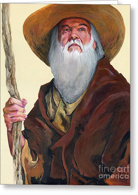 Wanderer Greeting Cards - Remembering When Greeting Card by J W Baker