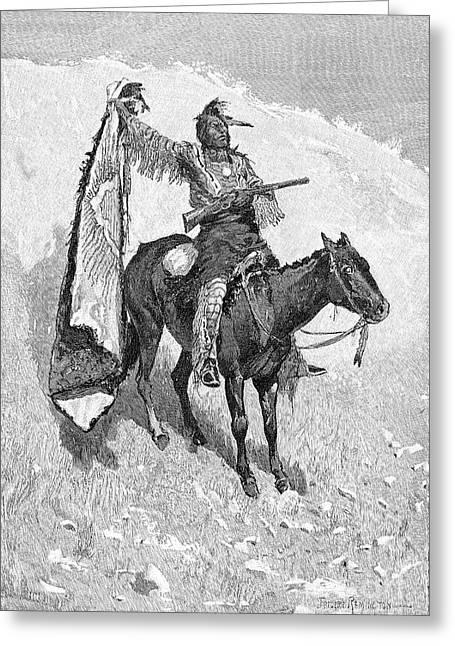 Remington Greeting Cards - Remington: Scout, 1891 Greeting Card by Granger