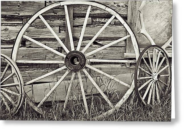 Rural Decay Prints Greeting Cards - Remnants of a Memory Greeting Card by Melany Sarafis