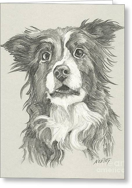 Rescue Drawings Greeting Cards - Rescue Me Nr. 1 Greeting Card by Jindra Noewi