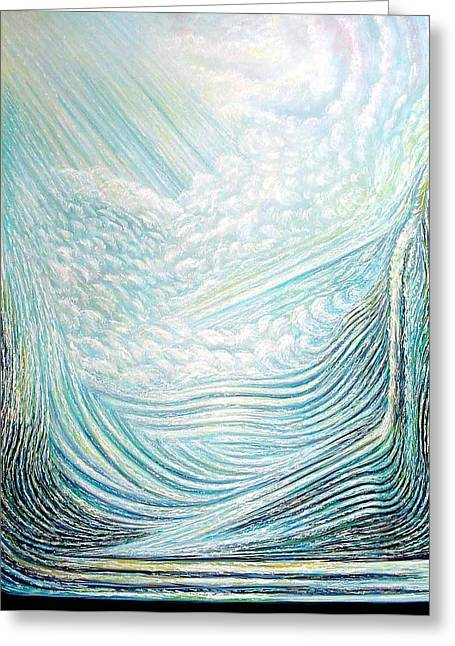 Resurrection  Greeting Card by Dennis McGeary