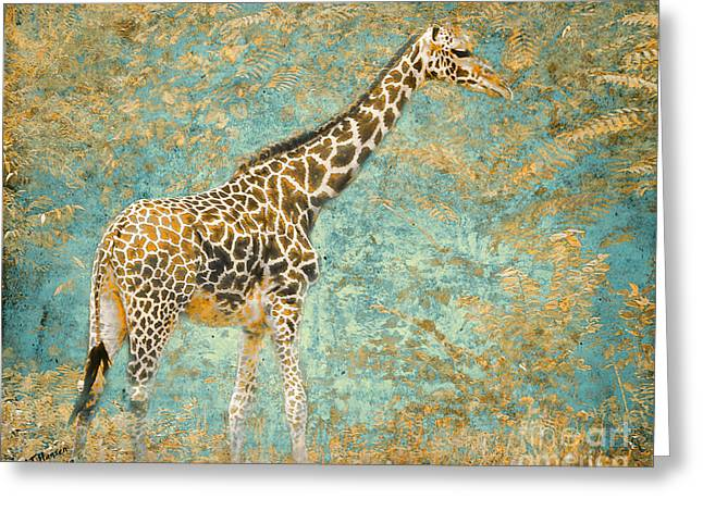 Wilderness Photographs Greeting Cards - Reticulated Greeting Card by Arne Hansen