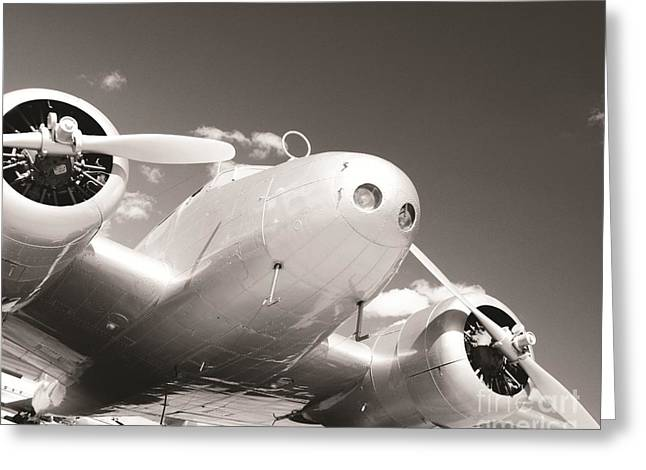 Propeller Greeting Cards - Retired Electra Greeting Card by Marley Holman