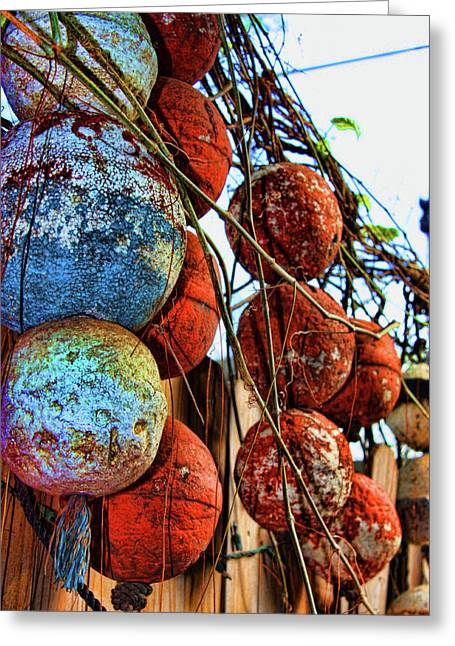 Bouys Greeting Cards - Retired Greeting Card by Joetta West