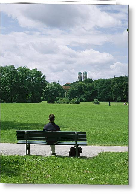Frauenkirche Greeting Cards - retouched/Q.C.  CWL8200 Greeting Card by National Geographic