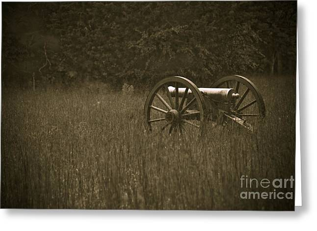 RETREAT...NEVER SURRENDER Greeting Card by Charles Dobbs