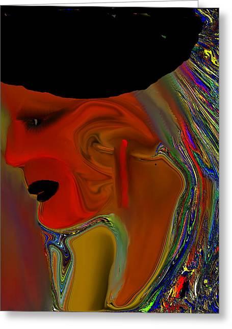 Digital Art Greeting Cards - Return Of George Greeting Card by Sherri  Of Palm Springs