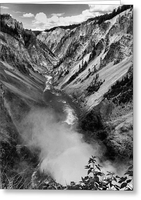 Grand Canyon Of The Yellowstone Greeting Cards - Return to Forever II Greeting Card by Steven Ainsworth