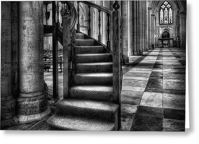 Minster Greeting Cards - Return To Me Greeting Card by Evelina Kremsdorf