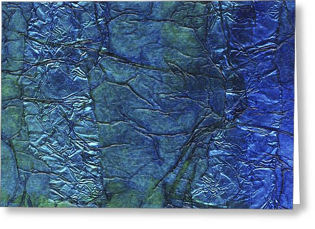 Algae Mixed Media Greeting Cards - Rhapsody of Colors 64 Greeting Card by Elisabeth Witte
