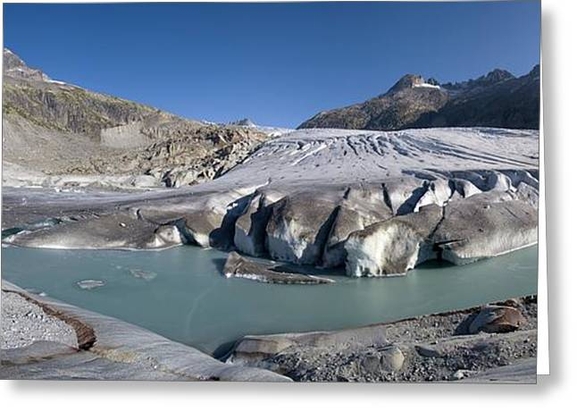 21st Greeting Cards - Rhone Glacier, Switzerland Greeting Card by Dr Juerg Alean