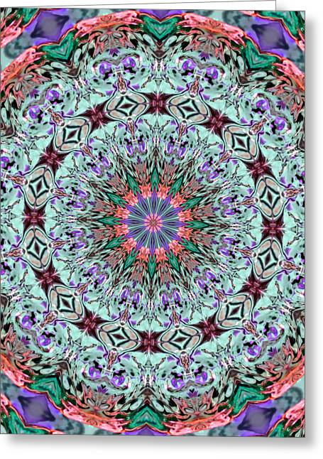 Lacy Floral Greeting Cards - Ribbons and Lace Greeting Card by Kristin Elmquist