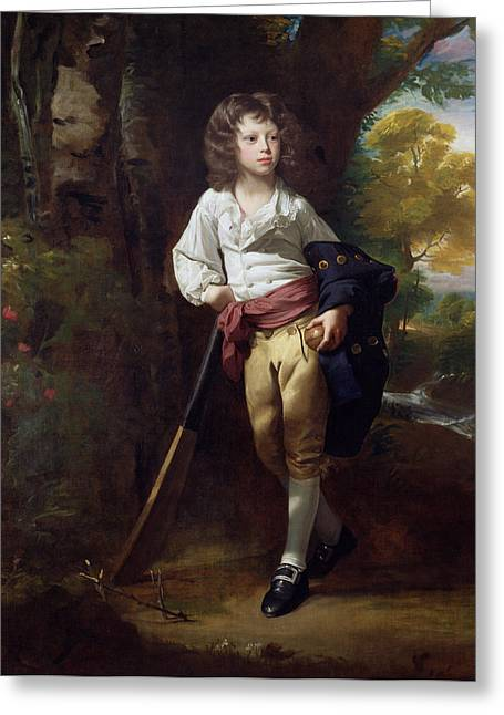 Cricket Paintings Greeting Cards - Richard Heber Greeting Card by John Singleton Copley