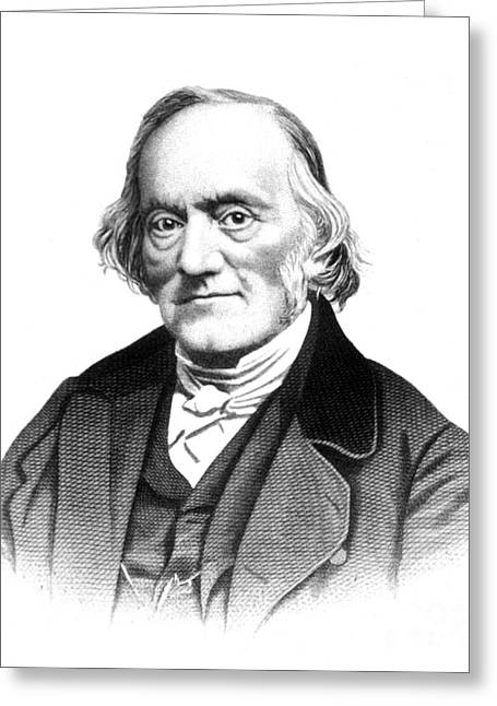 Opponent Greeting Cards - Richard Owen, English Paleontologist Greeting Card by Science Source