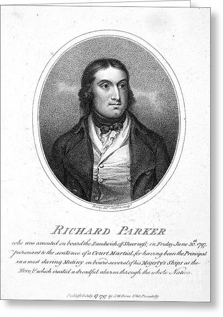 1797 Greeting Cards - Richard Parker (1767-1797) Greeting Card by Granger
