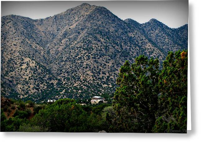 Rincon Greeting Cards - Rincon Spur Peaks Greeting Card by Aaron Burrows