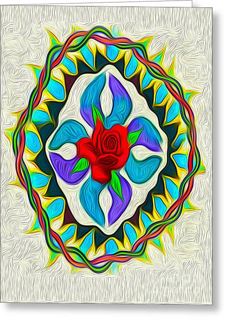 Gregory Dyer Greeting Cards - Ring around the Rosie Greeting Card by Gregory Dyer