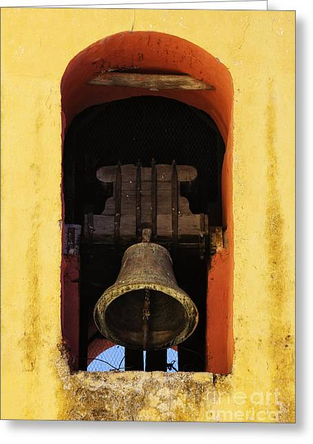 Bals Greeting Cards - Ringing Church Bell Greeting Card by Jeremy Woodhouse
