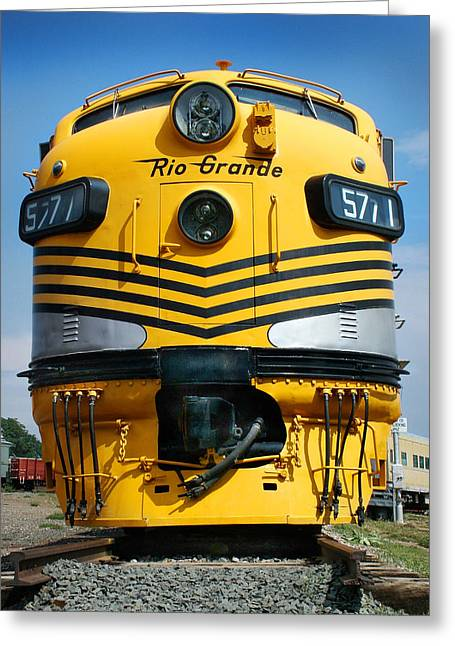 Colorado Railroad Museum Greeting Cards - Rio Grande at its Prime Greeting Card by Ken Smith